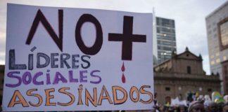 Asesinan a tres jóvenes en Colombia, dos de ellos militantes del paro nacional