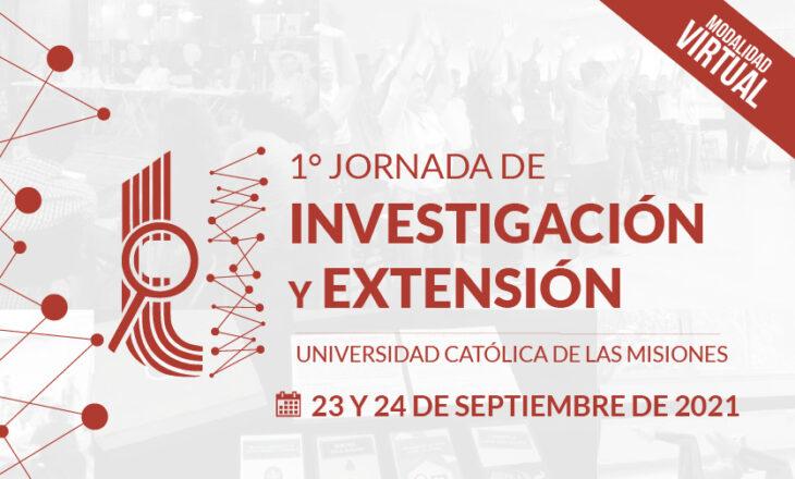 Se realizará la 1° Jornada de Investigación y Extensión de la UCAMI