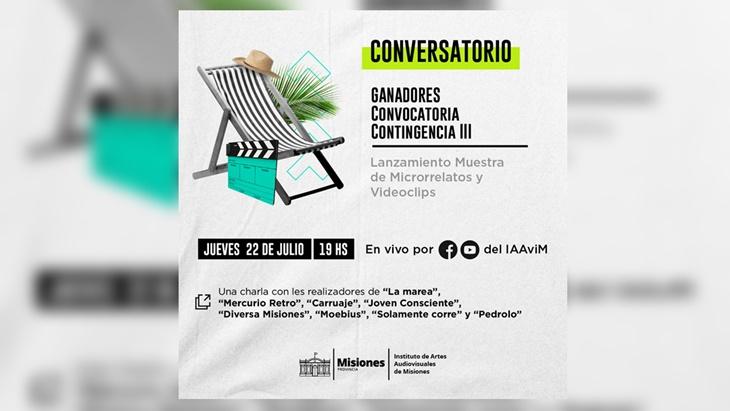 El IAAviM invita al estreno y charla virtual con realizadores de microrrelatos y videoclips ganadores del Incentivo a la Creación Audiovisual