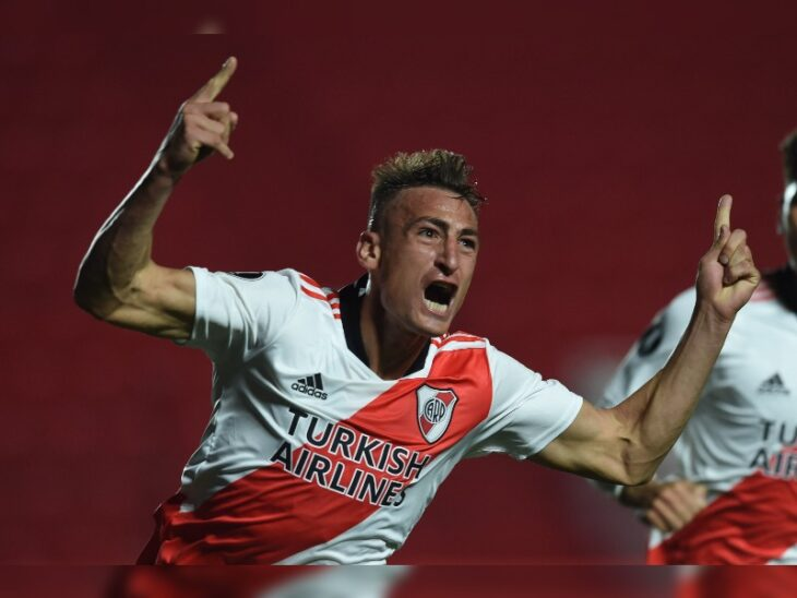 Copa Libertadores: con dos goles de Braian Romero, River eliminó a Argentinos Juniors y enfrentará al Mineiro en cuartos de final