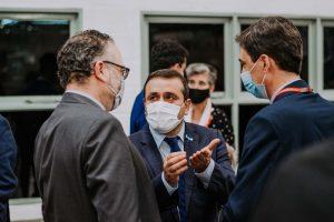 """Herrera Ahuad: """"La apertura de fronteras no tiene que ver sólo con la inmunización, sino con la seguridad sanitaria, hay médicos en Misiones que hace un año y medio trabajan todos los días sin descanso"""""""