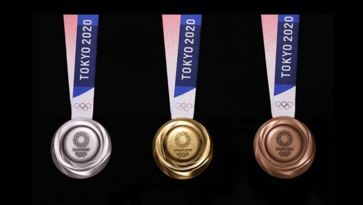 Las medallas que se entregarán en los Juegos Olímpicos de Tokio fueron fabricadas con un material reciclable