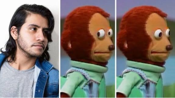 La verdadera historia detrás del conocido meme del mono avergonzado
