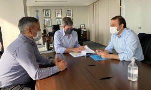 Obras para el Cepard e infraestructura deportiva para el interior de la provincia, los temas salientes en la reunión entre Herrera Ahuad y Lammens