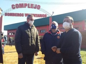 Brigada contra incendios forestales en Misiones tendrá 36 efectivos, un aporte de 12 millones de pesos para herramientas y Herrera Ahuad pidió un plan de contingencia ante posibles catástrofes