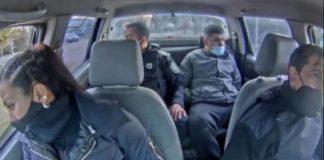 un policía y su cómplice