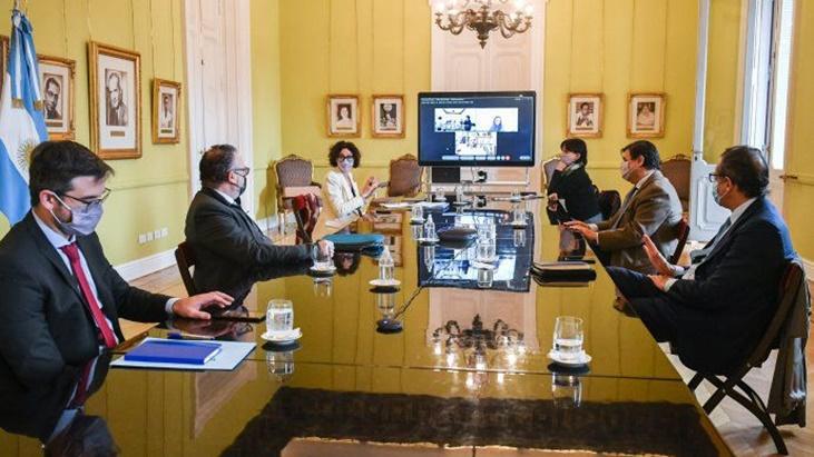 Se reúne el Gabinete Económico en la Casa Rosada