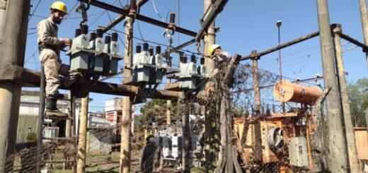 Energía de Misiones realizó trabajos en Cerro Corá, Profundidad y Puerto Iguazú