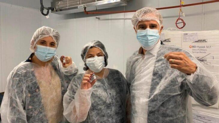 Laboratorios Richmond produce un millón de dosis del componente 2 de la Sputnik