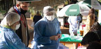 vacunas en la Terminal de Transferencia UNaM de Posadas