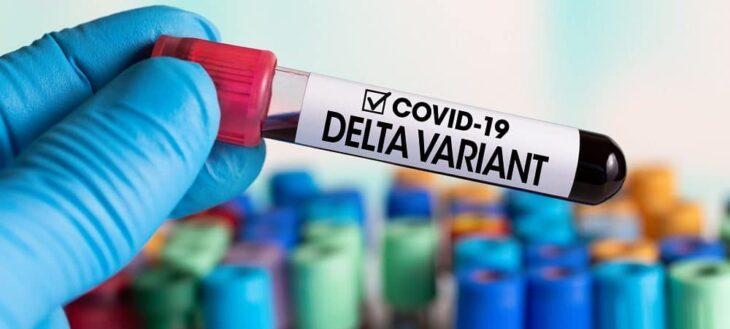 Detectaron la circulación comunitaria de la variante Delta del coronavirus en Brasil