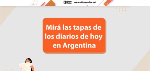 Las tapas de los diarios de hoy en Argentina | Martes 27 de julio