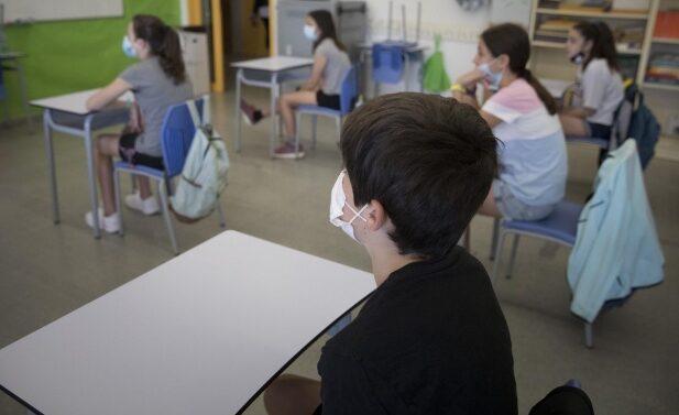 distancia en el aula