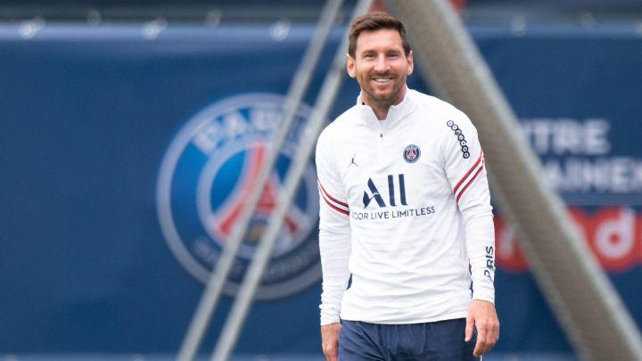 Messi debute el próximo domingo