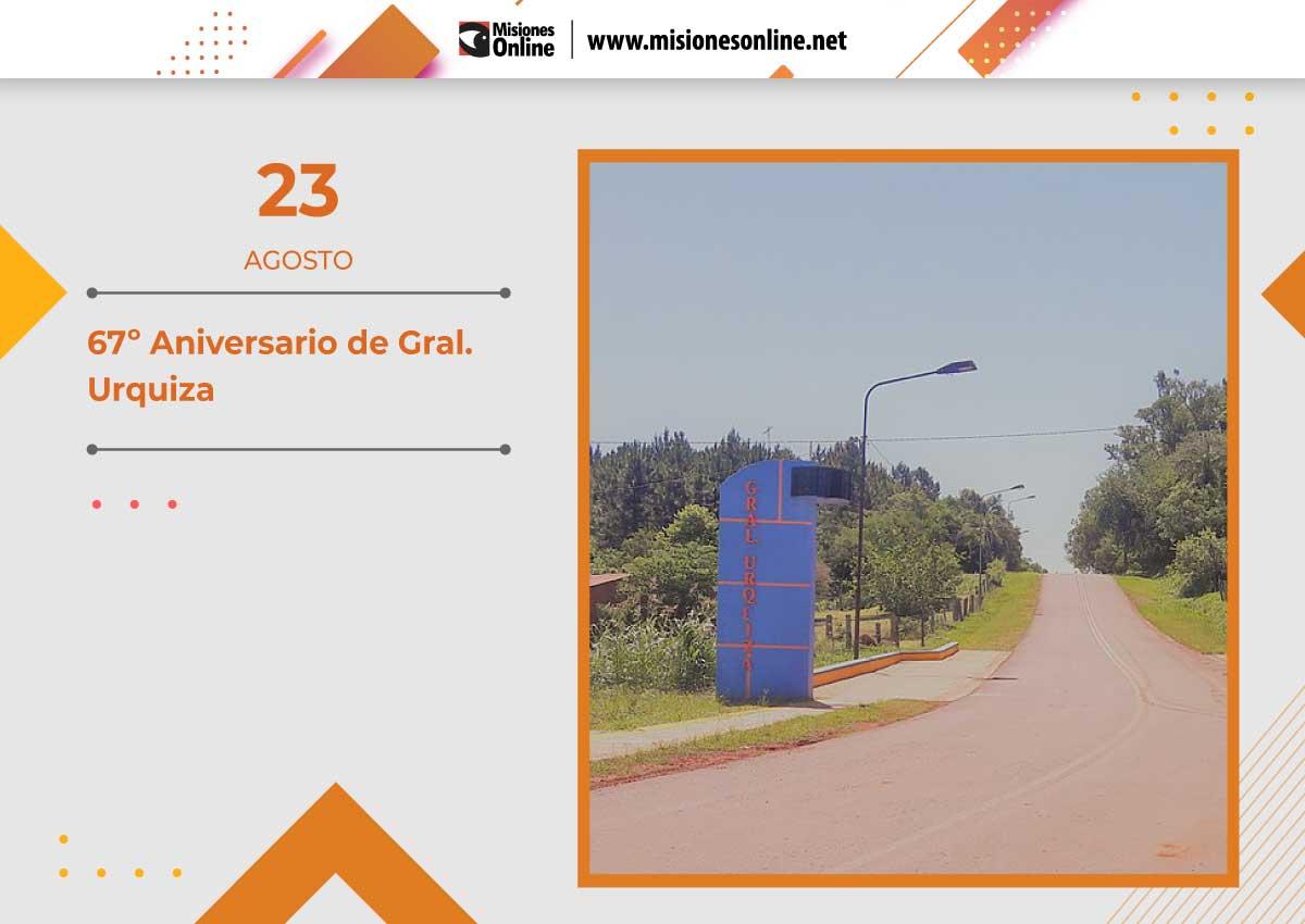 General Urquiza celebra el Aniversario N°67
