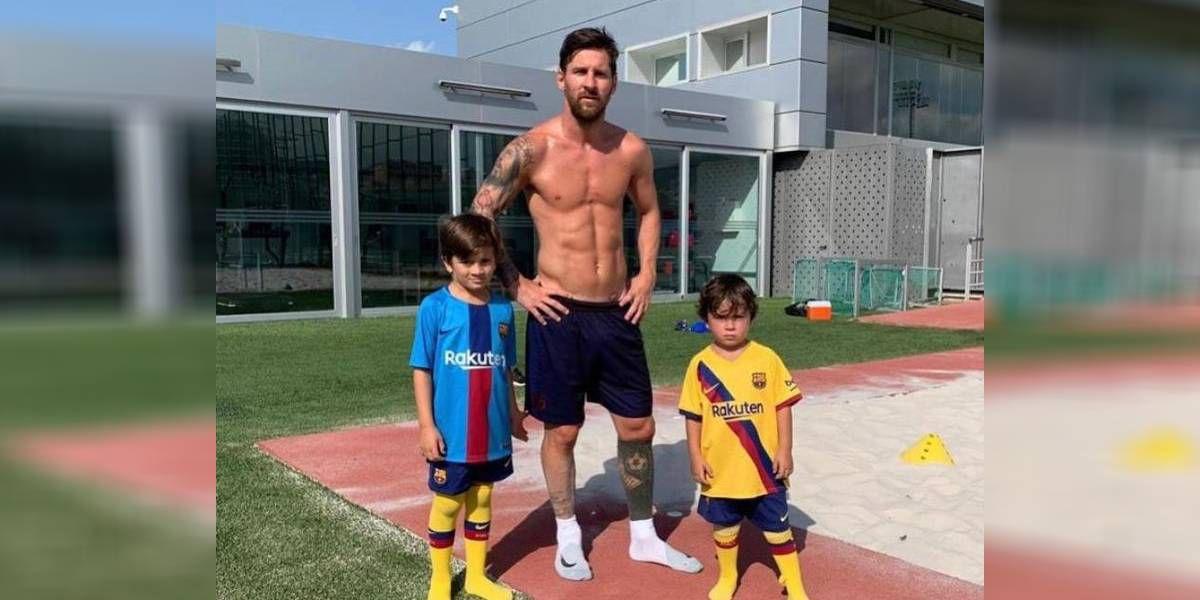 Mateo Messi llevó sus ocurrencias a París: gambeteó a Antonela Roccuzzo en la calle y sorprendió a todos