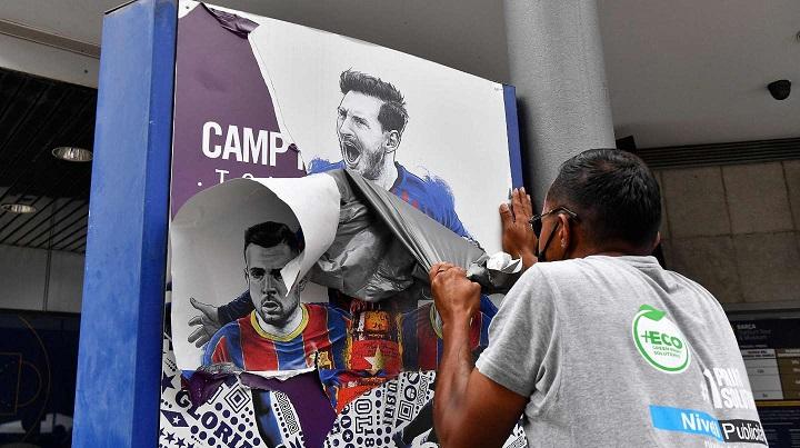 Revelaron qué fue lo único que dejó Messi en su locker del vestuario del Barcelona: