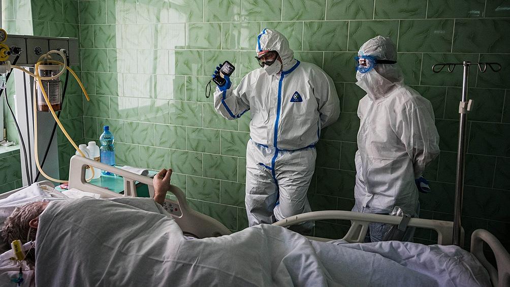 Rusia reportó 820 muertos por coronavirus