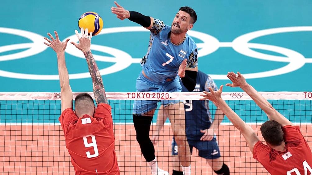 Tokio 2020   La selección masculina de vóleibol dio el batacazo y se clasificó ante EEUU