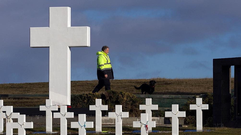 excombatientes caídos en Malvinas
