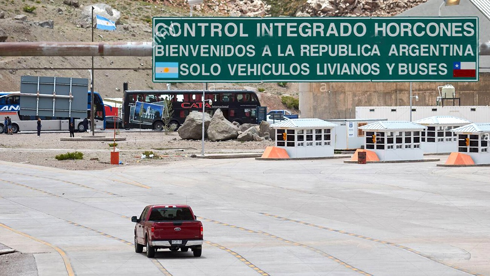 fronteras terrestres con Uruguay y Chile