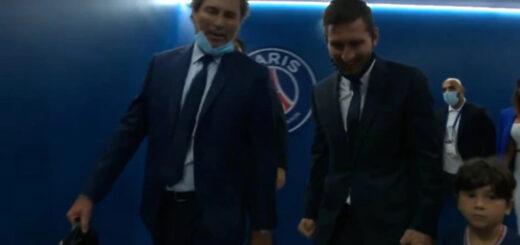 argentino que escoltó a Messi