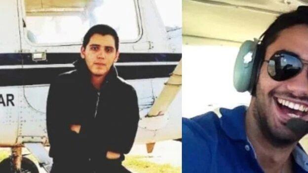 avioneta que se estrelló en Uruguay