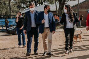 Herrera Ahuad inauguró las primeras cuatro cuadras de asfalto en Profundidad y anunció obras para mejorar la conectividad en la zona sur de Misiones