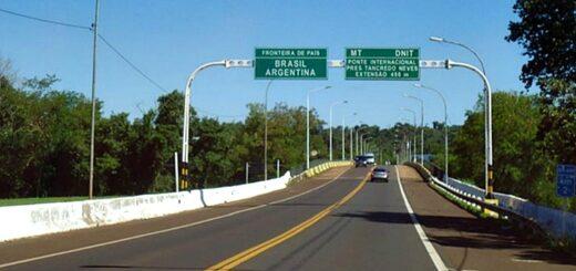 Reapertura de fronteras   En Misiones se habilitaría el ingreso de hasta 800 turistas diarios por el puente Tancredo Neves