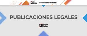 El Juzgado de Primera Instancia en lo Civil, Comercial, Laboral y de Familia N°1 cita a herederos y acreedores de TAMIS Carlos Arturo