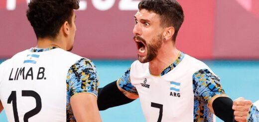 Tokio 2020 | La selección argentina de vóley logró un triunfo histórico ante Italia y jugará las semifinales de los Juegos Olímpicos