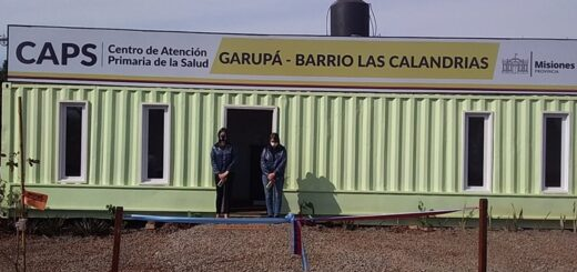 Inauguraron un Caps Sustentable en el barrio Las Calandrias de Garupá