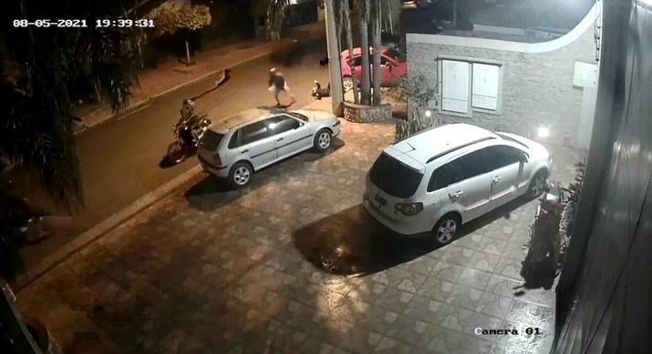 motochorros arrastraron a una mujer