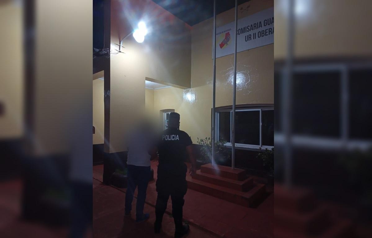 Violento fue detenido en Guaraní