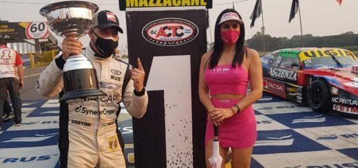 """TC en Posadas: """"Me encanta la temperatura de esta provincia, me gusta venir a Misiones"""", indicó Mazzacane quien logró la Pole Position"""