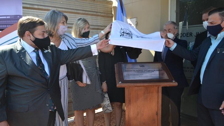 Se inauguraron nuevos Juzgados de Paz y Violencia Familiar en Misiones