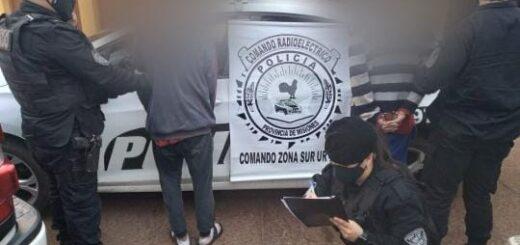 Fueron detenidos por intentar abrir vehículos estacionados en Oberá