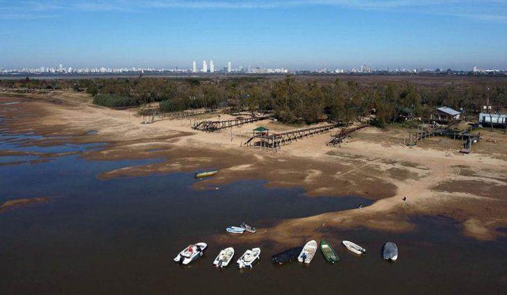 Creció el río Paraná pero seguirá descendiendo hasta al menos octubre