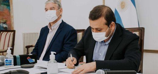 Firmaron un convenio de colaboración para dotar de tecnología a las chacras misioneras