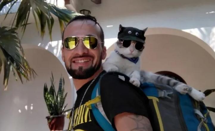 """Entredichos en Paraguay por la muerte del """"Gato Mochilero�: ¿Lo envenenaron o fue atacado por perros?"""