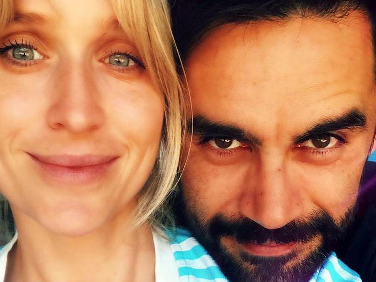 Gonzalo Heredia y la actriz Brenda Gandini en Iguazú