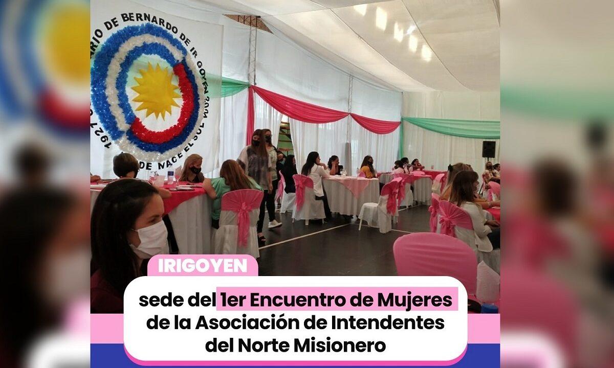 Mujeres de la Asociación de Intendentes del Norte Misionero