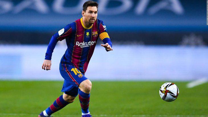Messi ya está en Barcelona para firmar su nuevo contrato