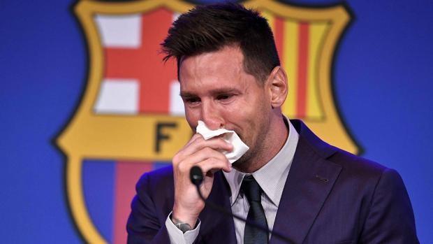 venden el pañuelo que Messi usó