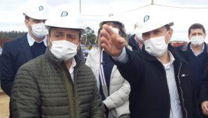 Hidrógeno verde: Herrera Ahuad visitó la planta piloto del Parque Industrial de Posadas que proyecta una alternativa al postergado gasoducto
