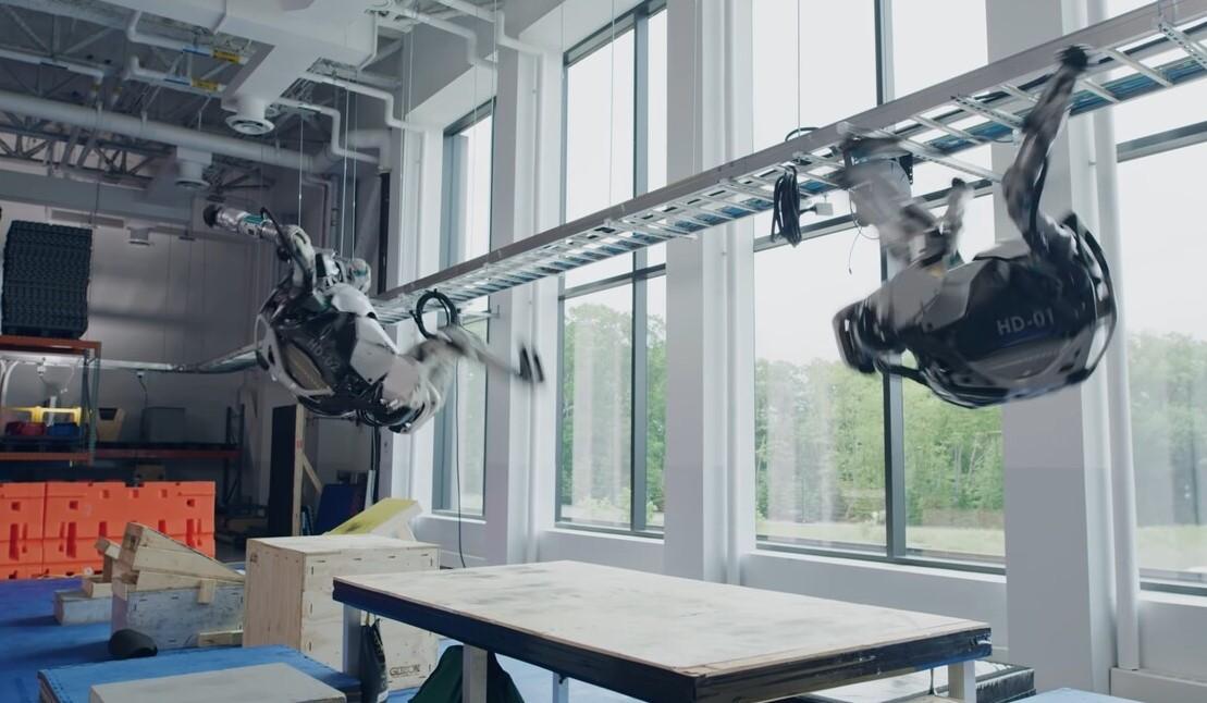 robots de boston dynamics