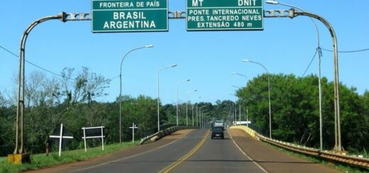 reapertura del Puente tancredo Neves