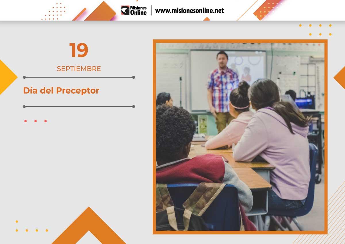 Hoy se celebra el Día del Preceptor: uno de los pilares del trabajo en el aula