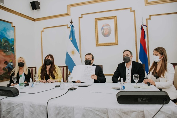 El Gobierno Nacional firmó un convenio para fortalecer la inclusión laboral y educativa