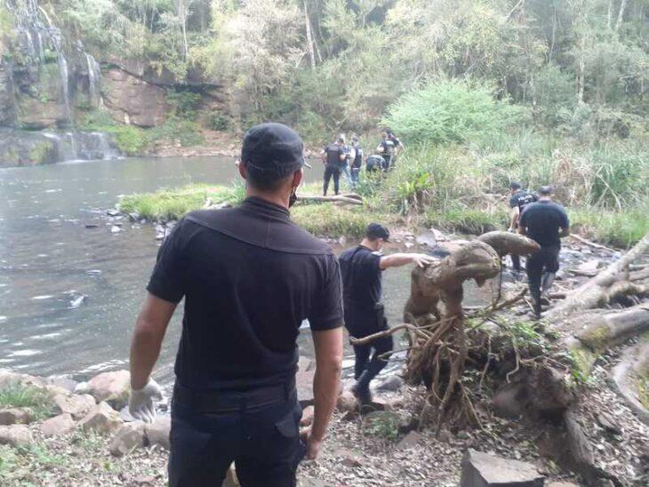 Falleció un hombre tras ahogarse en el Salto de Arroyo Alegre en Aristóbulo del Valle